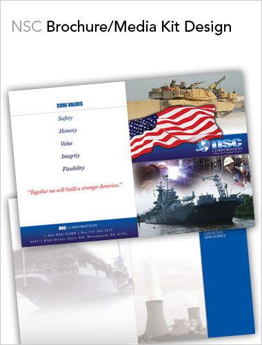 NSC Brochure Design