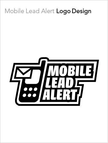 Mobile Lead Alert Logo Design