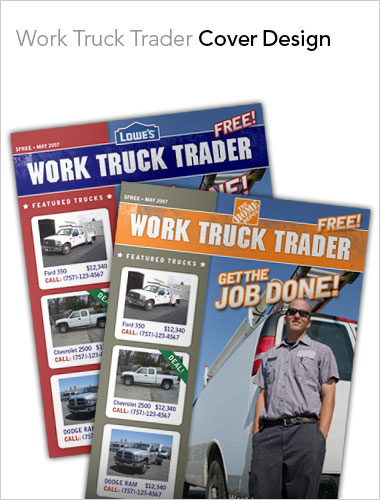Work Truck Trader Cover Design